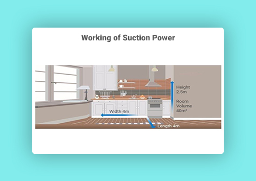 Working of Suction Power