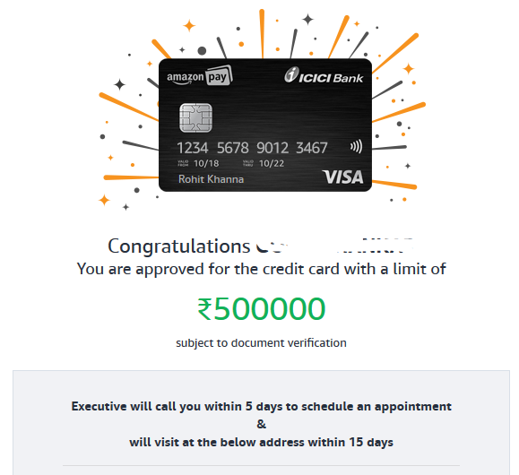 Amazon Pay Icici Bank Credit Card Unlimited 5 Cashback On Amazon In