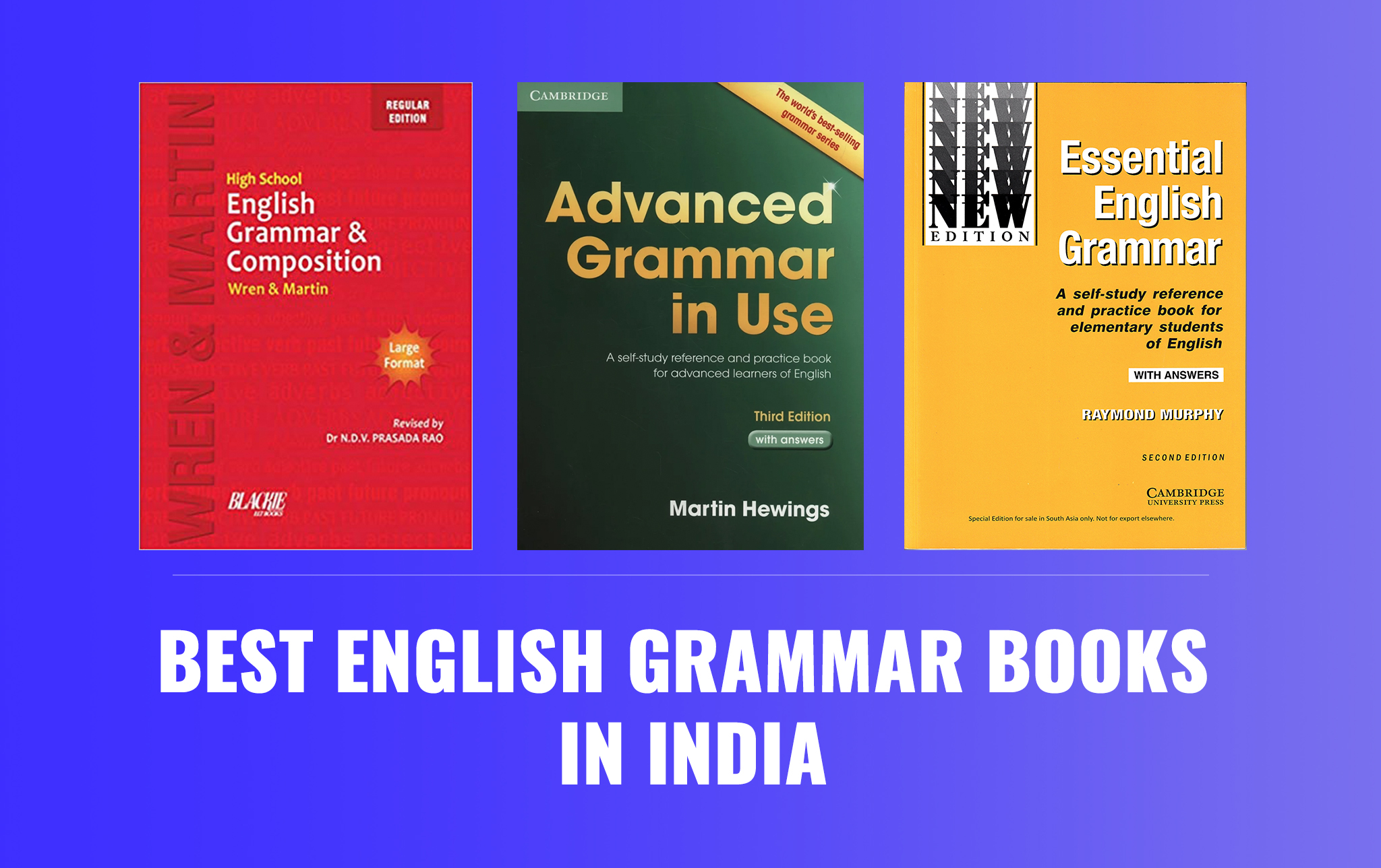 10 Best English Grammar Books In India For Everyone 2020