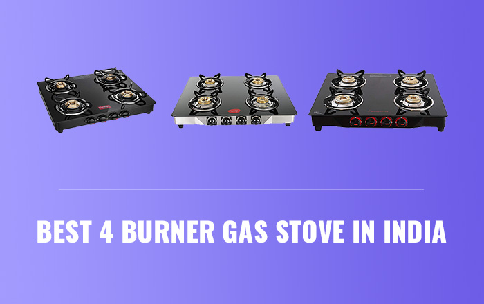 Best 4 Burner Gas Stoves