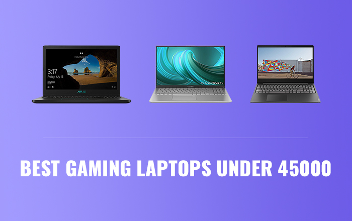 best laptops under 45000 for gaming