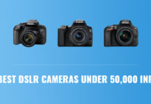 Best DSLR Cameras Under 50,000 INR
